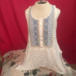 4/$25 sale Karen Kane Asymmetrical Flowy Top